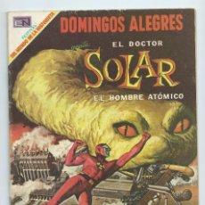 Tebeos: DOMINGOS ALEGRES Nº 794 - EL DOCTOR SOLAR , EL HOMBRE ATOMICO. ED. NOVARO, 1969. MUY BUEN ESTADO. Lote 183408868