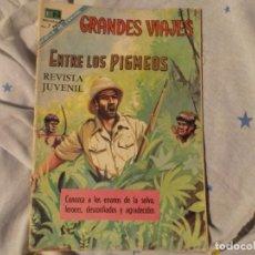 Tebeos: NOVARO GRANDES VIAJES--EMNTRE LOS PIGMEOS 1968. Lote 183409372
