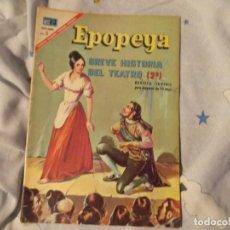 Tebeos: NOVARO--BREVE HISTORIA DEL TEATRO 2---1967. Lote 183409756