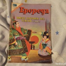 Tebeos: NOVARO--BREVE HISTORIA DEL TEATRO FINAL---1967. Lote 183409856