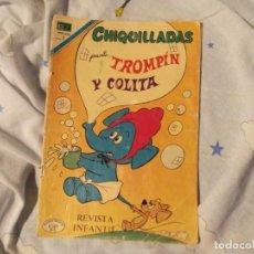Tebeos: NOVARO .CHIQUILLADAS TROMPIN Y COLITA 1970. Lote 183411221