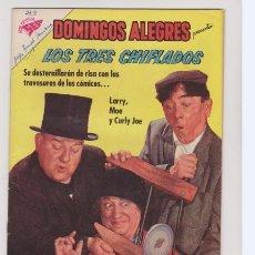 Tebeos: DOMINGOS ALEGRES NUMERO 369. LOS TRES CHIFLADOS.. Lote 183457616