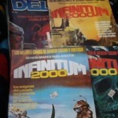 Tebeos: COMICS CIENCIA FICCION Y TERROR. DELTA Y 3 DE INFINITUM 2000. Lote 183606537