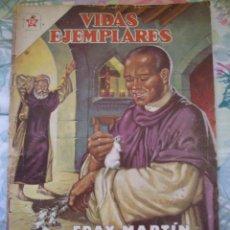 Tebeos: VIDAS EJEMPLARES Nº 129 FRAY MARTIN DE PORRES EDITORIAL NOVARO. Lote 183609027