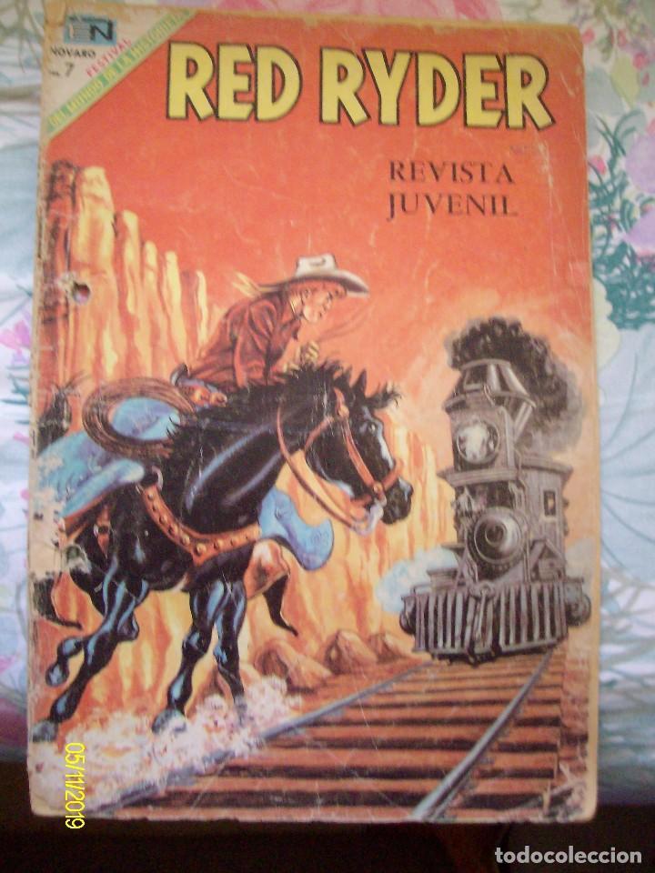 RED RYDER Nº 201 EDITORIAL NOVARO (Tebeos y Comics - Novaro - Red Ryder)