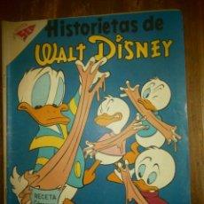 Tebeos: HISTORIETAS DE WALT DISNEY # 132 SEA NOVARO MEXICO 1958. Lote 183740093