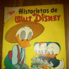 Tebeos: HISTORIETAS DE WALT DISNEY # 127 SEA NOVARO MEXICO 1958. Lote 183740660