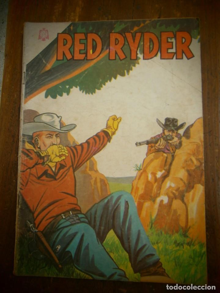 RED RYDER # 124 EDITORIAL NOVARO MEXICO 1965 (Tebeos y Comics - Novaro - Red Ryder)