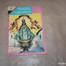 BDs: PATRONOS Y SANTUARIOS Nº 18, EDITORIAL NOVARO. Lote 183914076