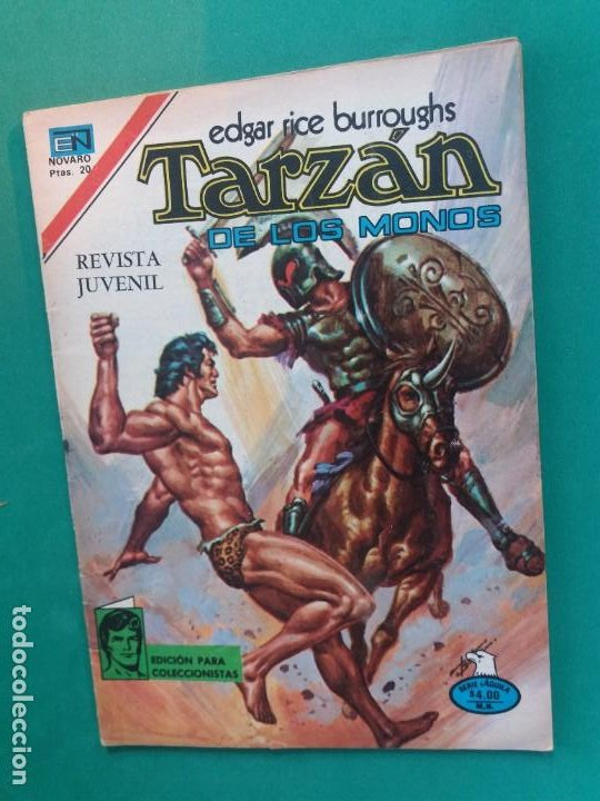 TARZAN Nº 568 NOVARO SERIE AGUILA (Tebeos y Comics - Novaro - Tarzán)
