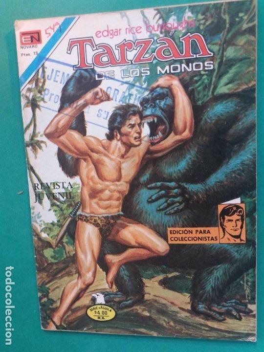 TARZAN Nº 549 NOVARO SERIE AGUILA (Tebeos y Comics - Novaro - Tarzán)