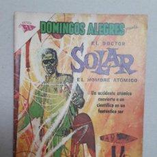 Tebeos: EL DOCTOR SOLAR N° 1 - DOMINGOS ALEGRES N° 492 - ORIGINAL EDITORIAL NOVARO. Lote 184333535