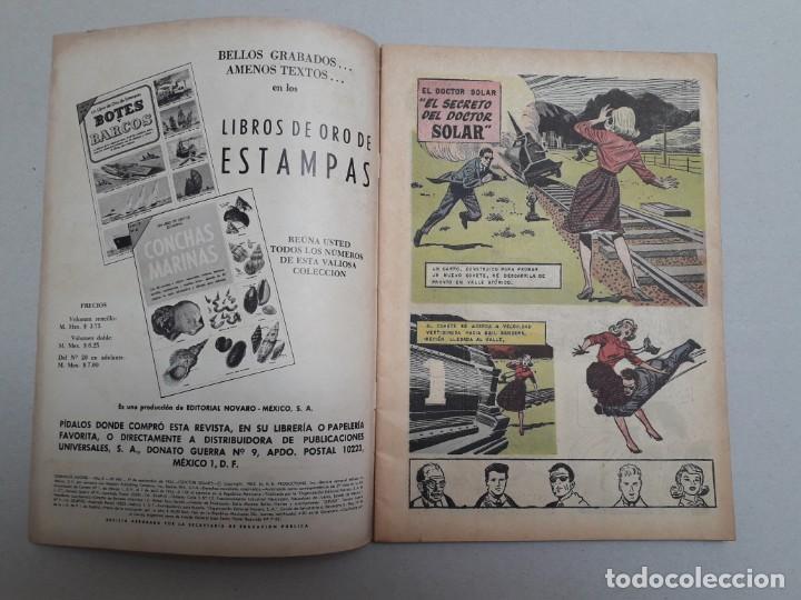 Tebeos: El doctor Solar n° 1 - Domingos Alegres n° 492 - original editorial Novaro - Foto 2 - 184333535