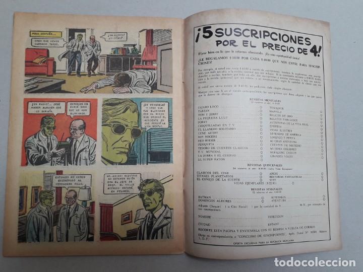 Tebeos: El doctor Solar n° 1 - Domingos Alegres n° 492 - original editorial Novaro - Foto 3 - 184333535