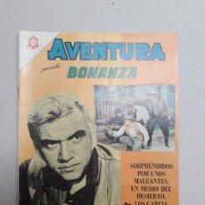 Tebeos: BONANZA! - AVENTURA N° 393 - ORIGINAL EDITORIAL NOVARO. Lote 184335472
