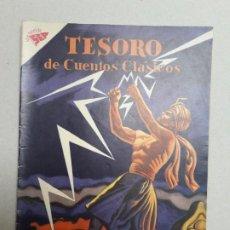 Tebeos: TESORO DE CUENTOS CLÁSICOS N° 32 - LA LUCHA CON EL RELÁMPAGO - ORIGINAL EDITORIAL NOVARO. Lote 184337117