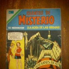 BDs: CUENTOS DE MISTERIO # 2-266 NOVARO SERIE AGUILA MEXICO 1978. Lote 184545922