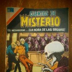 BDs: CUENTOS DE MISTERIO # 2-294 NOVARO SERIE AGUILA MEXICO 1979. Lote 184546067