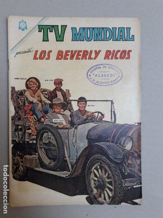 TV MUNDIAL N° 59 - LOS BEVERLY RICOS - ORIGINAL EDITORIAL NOVARO (Tebeos y Comics - Novaro - Otros)