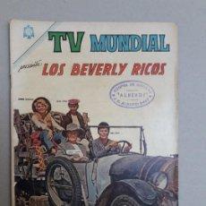 BDs: TV MUNDIAL N° 59 - LOS BEVERLY RICOS - ORIGINAL EDITORIAL NOVARO. Lote 184609663