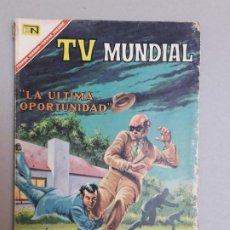 Tebeos: TV MUNDIAL N° EXTRAORDINARIO - LA ÚLTIMA OPORTUNIDAD - ORIGINAL EDITORIAL NOVARO. Lote 184610450