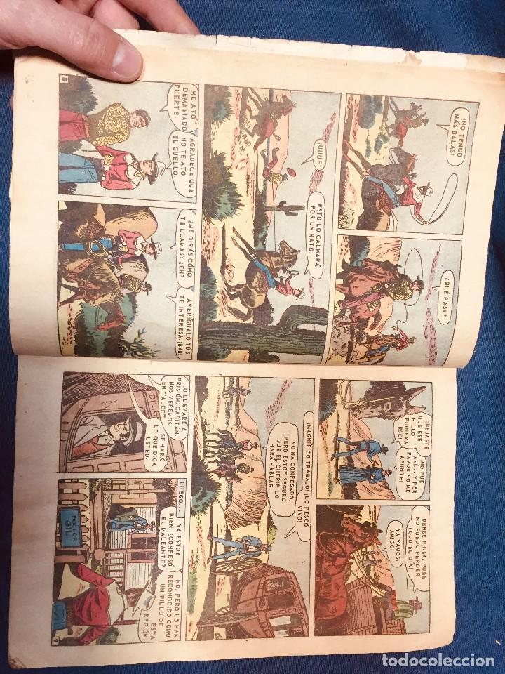 Tebeos: GENE AUTRY REVISTA JUVENIL NOVARO A COLOR 1967 EL ERMITAÑO DE LAS DUNAS - Foto 4 - 184644096