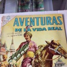 Tebeos: AVENTURAS DE LA VIDA REAL. LA LOCURA DEL MAHARAJA. EDITORIAL NOVARO. PVP 5 PESETAS. AÑO 1965.. Lote 184826538