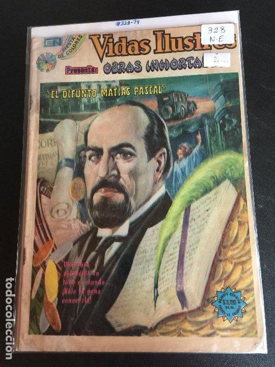 NOVARO VIDAS ILUSTRES NUMERO 328 NORMAL ESTADO (Tebeos y Comics - Novaro - Vidas ilustres)