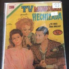 Tebeos: NOVARO TV MUNDIAL NUMERO 213 NORMAL ESTADO. Lote 184847183