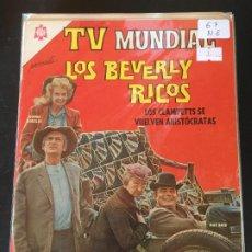 BDs: NOVARO TV MUNDIAL NUMERO 67 NORMAL ESTADO. Lote 184847327