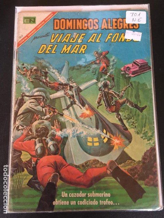 NOVARO DOMINGOS ALEGRES NUMERO 701 NORMAL ESTADO (Tebeos y Comics - Novaro - Domingos Alegres)