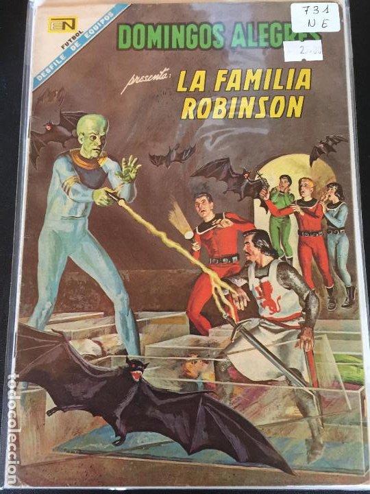 NOVARO DOMINGOS ALEGRES NUMERO 731 NORMAL ESTADO (Tebeos y Comics - Novaro - Domingos Alegres)
