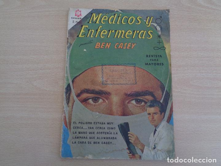 MÉDICOS Y ENFERMERAS NÚM. 19 NOVARO 1965 (Tebeos y Comics - Novaro - Otros)