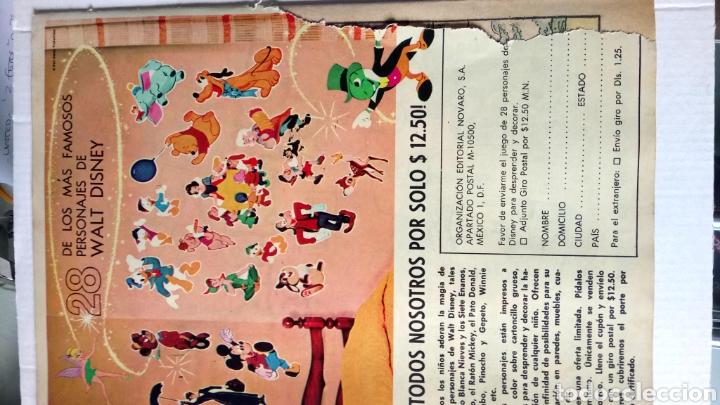 Tebeos: GRANDES VIAJES. SAFARI DESDE LAS NUBES. EDITORIAL NOVARO. PVP 7 PESETAS. AÑO 1971. - Foto 2 - 184919545