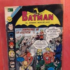 Tebeos: BATMAN Nº 619 NOVARO. Lote 185709030