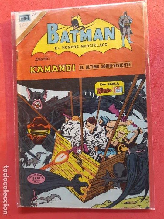 BATMAN Nº 760 NOVARO (Tebeos y Comics - Novaro - Batman)