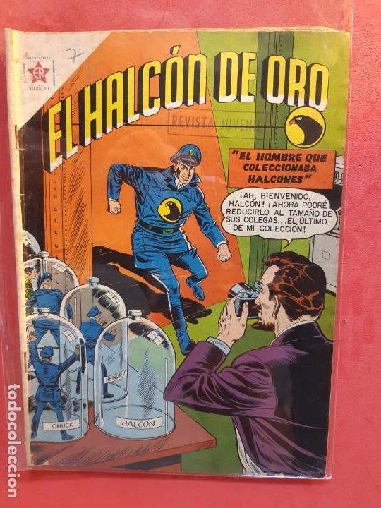 EL HALCÓN DE ORO Nº 7 NOVARO (Tebeos y Comics - Novaro - Sci-Fi)
