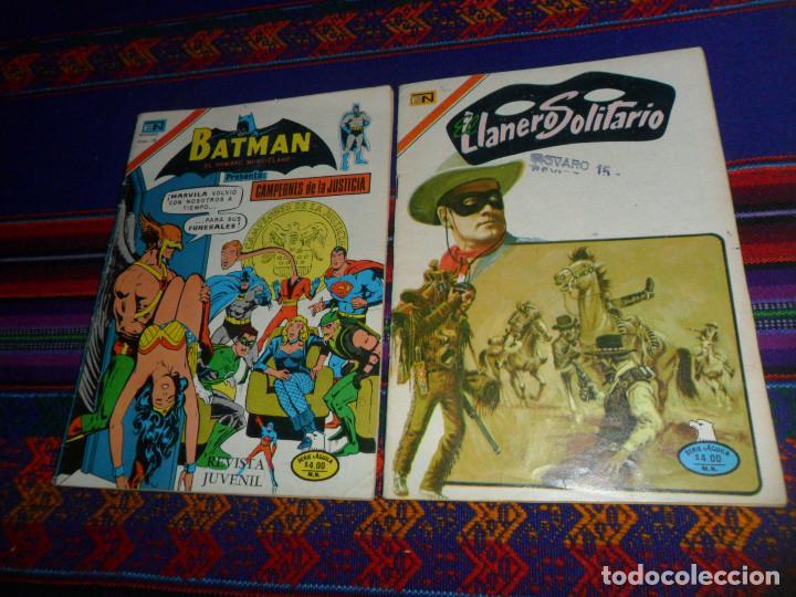 EL LLANERO SOLITARIO Nº 2-394 EL COMISARIO. NOVARO 1977 REGALO BATMAN CAMPEONES DE LA JUSTICIA 2-894 (Tebeos y Comics - Novaro - El Llanero Solitario)