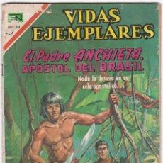 Tebeos: VIDAS EJEMPLARES - EL PADRE ANCHIETA - APOSTOL DEL BRASIL. Lote 185988872