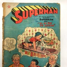 Tebeos: COMIC ORIGINAL SUPERMAN Nº 104 EDITORIAL NOVARO. Lote 185993055
