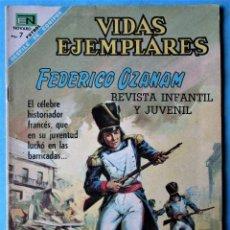 Tebeos: VIDAS EJEMPLARES Nº 272 - FEDERICO OZANAM - NOVARO 1968. Lote 186015935