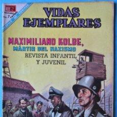 Tebeos: VIDAS EJEMPLARES Nº 271 - MAXIMILIANO KOLBE, MÁRTIR DEL NAZISMO - NOVARO 1968. Lote 186017228