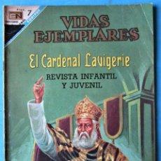 Tebeos: VIDAS EJEMPLARES Nº 262 - EL CARDENAL LAVIGERIE - NOVARO 1968 . Lote 186017568