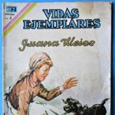Tebeos: VIDAS EJEMPLARES Nº 256 - JUANA WEISS - NOVARO 1967. Lote 186017851