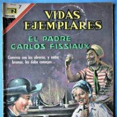 Tebeos: VIDAS EJEMPLARES Nº 258 - EL PADRE CARLOS FISSIAUX - NOVARO 1967. Lote 186019097