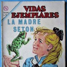 Tebeos: VIDAS EJEMPLARES Nº 172 - LA MADRE SETON - NOVARO 1964. Lote 186019531