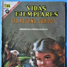 Tebeos: VIDAS EJEMPLARES Nº 238 - STA. PAULINA JARICOT - NOVARO 1967. Lote 186032908