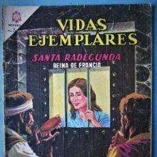 Tebeos: VIDAS EJEMPLARES Nº 226 - SANTA RADECUNDA REINA DE FRANCIA - NOVARO 1966. Lote 186032956