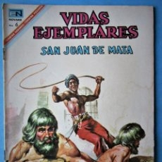 Tebeos: VIDAS EJEMPLARES Nº 253 - SAN JUAN DE MATA - NOVARO 1967. Lote 186032963