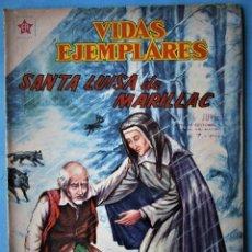 Tebeos: VIDAS EJEMPLARES Nº 64 - STA. LUISA DE MARILLAC - NOVARO (EDICIÓN MEXICANA) 1959. Lote 186032987